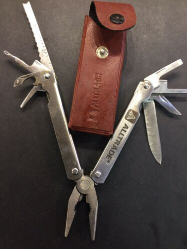 Details about  /Alltrade Stainless Steel Leatherman Multi Tool With Case