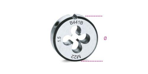 50.8mm Beta TOOLS 441B Cromo-Acero Paso Fino Rosca Métrica Die M18 X 1.5mm Ø