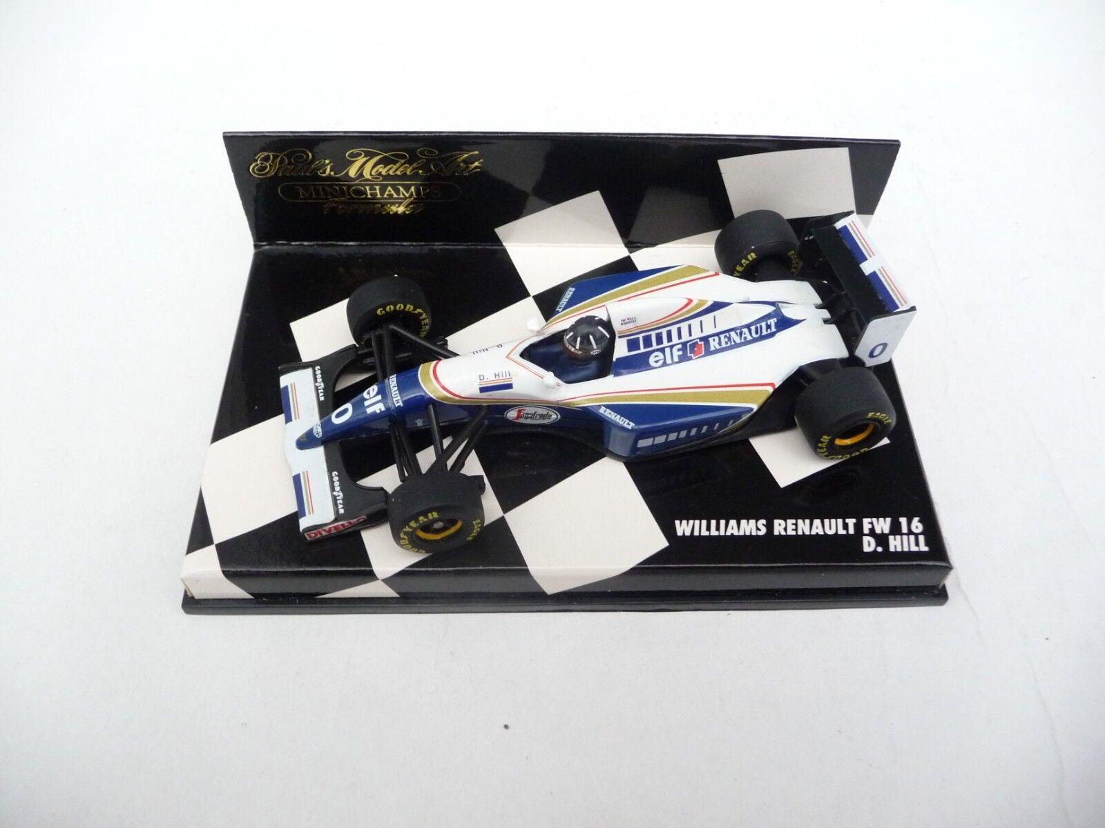 Minichamps 1 43 Williams Renault FW16 Damon Hill 940001