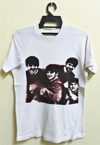 VINTAGE 70s THE BEATLES ROCK TOUR CONCERT PROMO T-