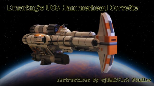 Lego Dmarkngs Hammerhead Corvette Instructions Ebay