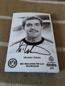 Firmado-Foto-Miroslav-Votava-Borussia-Dortmund-Nuevo-Mega-Rara