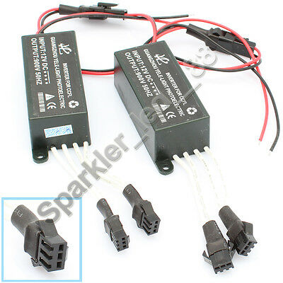Spare Inverter Ballast for CCFL Angel Eyes Halo Rings Kit 4-outputs 12V Male