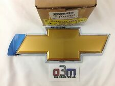 07-13 Chevrolet Silverado Rear Tailgate Gold / Chrome Bow Tie Emblem new OEM