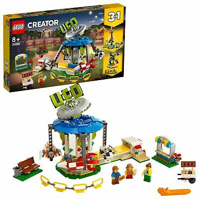 LEGO Creator 3in1 Fairground Carousel Building Set 31095