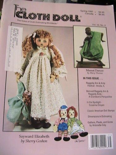 THE CLOTH DOLL Fall 1995 Vol 10 No 3 cloth art doll patterns~how to magazine