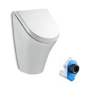 urinal mit deckel weiss roca nexo urinaldeckel softclose 735364k000 ebay. Black Bedroom Furniture Sets. Home Design Ideas