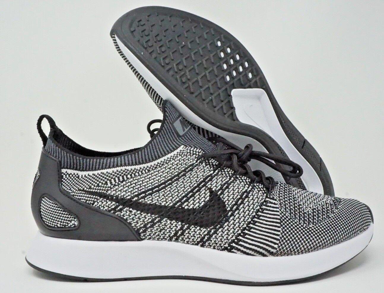 a832c0937e Zoom Mariah Flyknit Racer Mens Running shoes Oreo Black Platinum ...