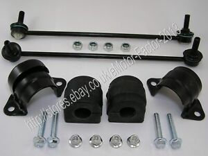 BMW-X5-FRONT-LEFT-AND-RIGHT-ANTI-ROLL-BAR-STABILISER-LINK-AND-BUSHES-31356750703