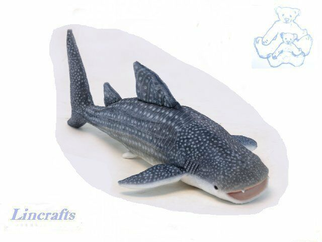 Hansa Whale Shark 6508 Plush Soft Toy Sold by Lincrafts Established 1993