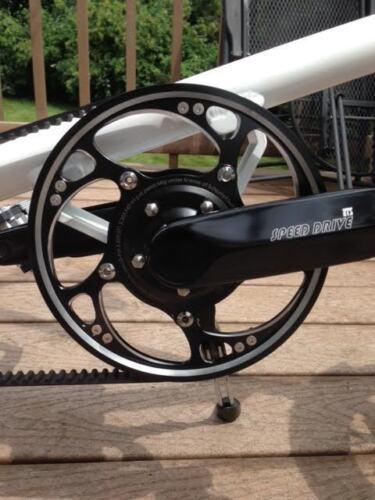Heel kick shift 2 speed ATS Speed Drive Crankset Strida Upgrade Kit