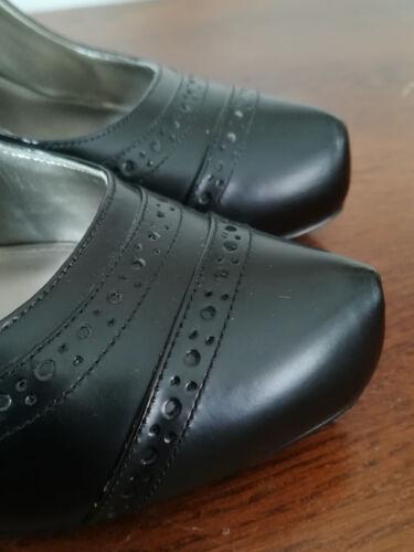 Cuir Pointure Noir Guess Escarpins 37 Tbe Chaussures Rn60Exq