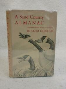 Aldo-Leopold-A-SAND-COUNTY-ALMANAC-1949-Oxford-University-Press-First-Edition