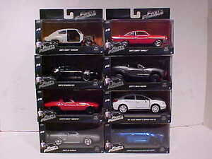 8 pack fast furious 8 dom 39 s and letty 39 s diecast cars 1 32 jada toys 5 inch f8 ebay. Black Bedroom Furniture Sets. Home Design Ideas