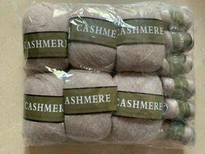 100% Cashmere Yarn Wool Knitting Soft Warm Mongolian 30 Colors Universal 2 Pcs