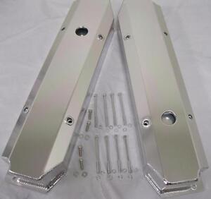 TSP Fabricated Tall Aluminum Valve Covers Dodge 383 413 400 426 440