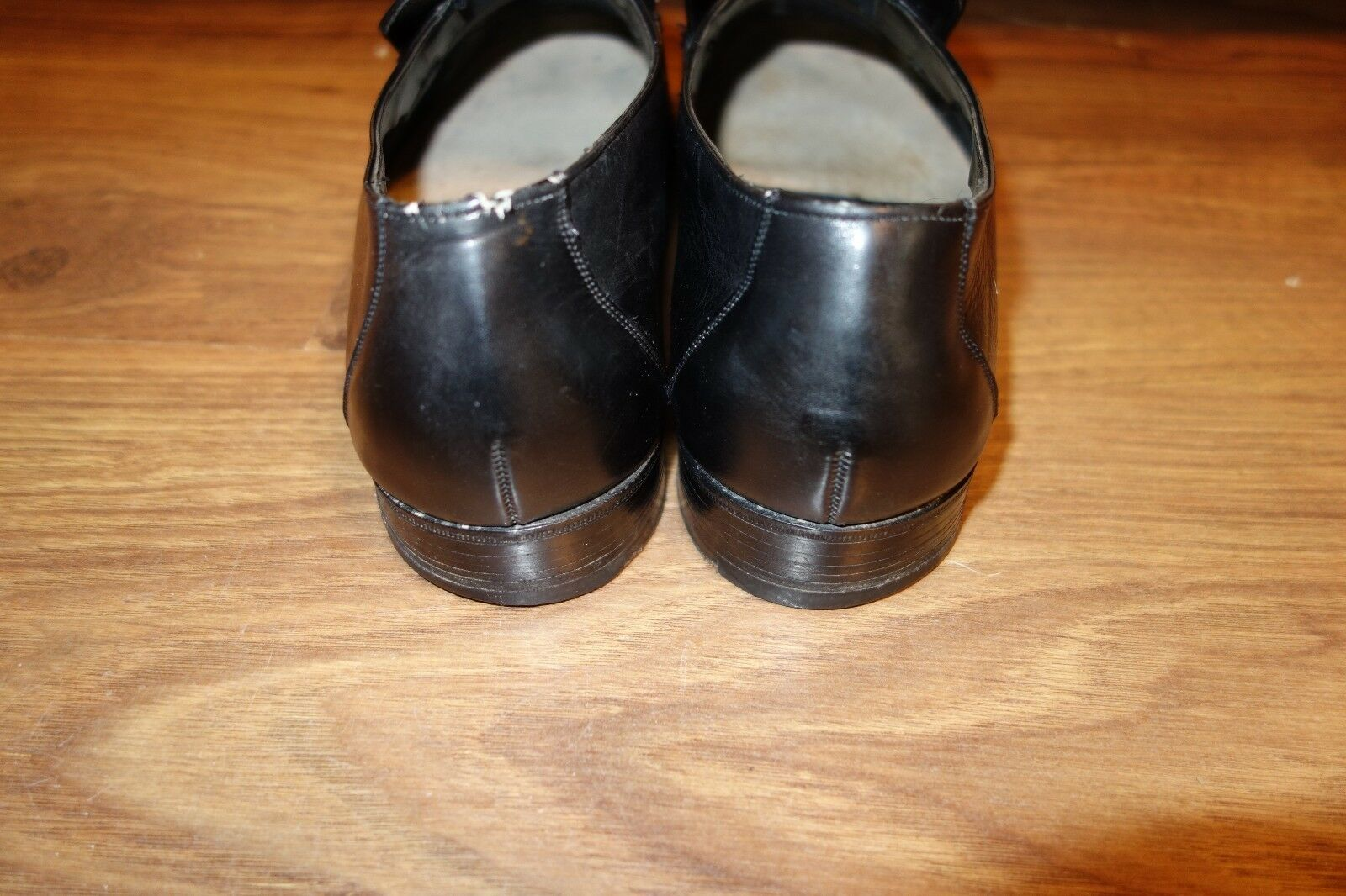 GREAT VINTAGE  CHURCH LOAFER, LEATHER BLACK, 9.5, SIZE UK 9, US 9.5, BLACK, EU 43, VERY GOOD 4701dd