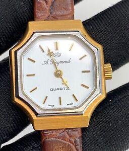 Auguste-Reymond-Arsa-Kal-924001-Vintage-23-5-mm-Quarz-Schweizer-Made-Nicht-Passt