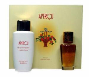 APERCU by Houbigant 2PC SET 1.7 OZ/50ml Eau de Toilette Spray for Women