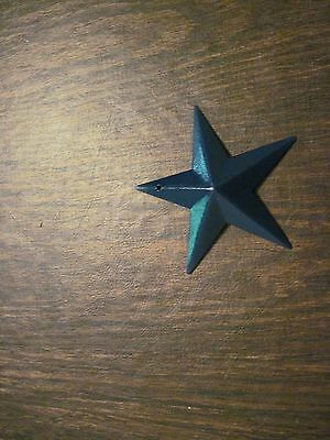 "5.5/"" Almond Barn Star Metal Primitive"