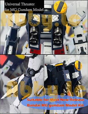 2 Pcs of CJ Universal Titanium/Silver Thruster for UC Bandai MG Gundam Model Kit