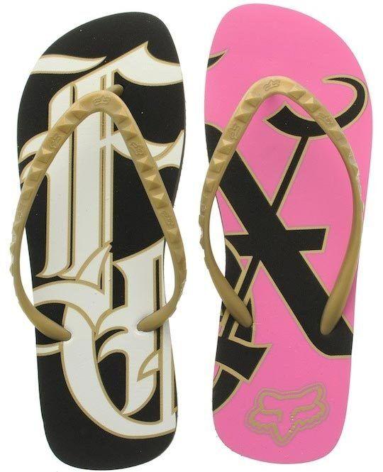 FOX RACING RAGAZZE MONOS sandali INFRADITO NERO calzature da spiaggia sandali MONOS bassi 311784