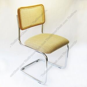 Image Is Loading New Marcel Breuer Cesca Side Chair Cushion Seat