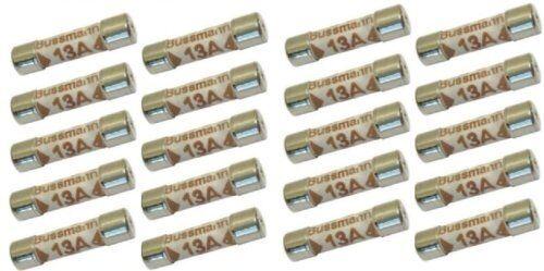 10x 13 amp domestico alimentazione fusibile CE conforme bs1362 plugtop tipo-Free P+P dieci