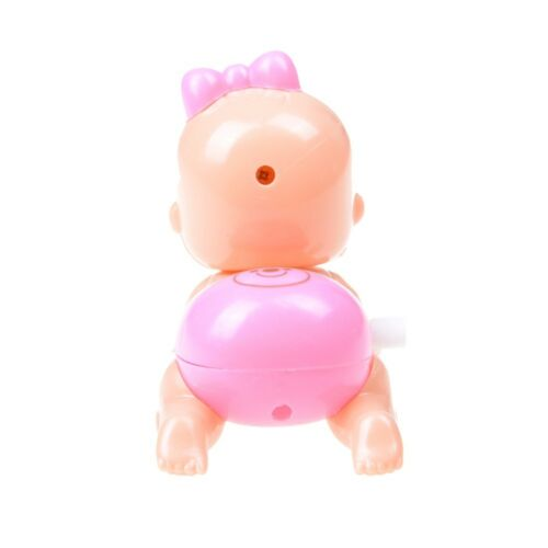 Clockwork Toy Crawling Baby Toy Newborn Baby Wind up Toy S-KT