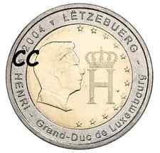 Luxemburg 2004 2€ UNC Henri