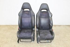 JDM-04-07-Subaru-Impreza-WRX-STI-Limited-Front-Seats-Leather-Suede-JDM-GD-Seats