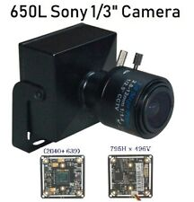 "520TVL H.264/&MJPEG 1//3/"" Sony CCD SmartphoneViewing IP Box Color CCTV Camera Lens"
