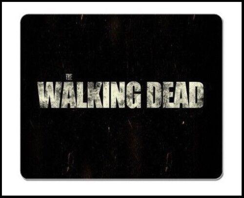 The Walking Dead Zombie Logo Theme anti-slip PC Mac laptop Gaming mouse mat pad