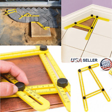 Angle Measuring Tool Angle-Izer Ruler Multi-Angle Easy Template Instrument Slide