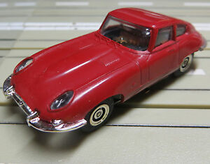 Faller AMS Jaguar E-Type with Flat chain motor 4 new Repro Tyres
