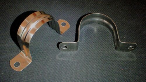 """10 PC STAINLESS 3 1//2/"""" TUBING PIPE STRAP CLAMP MARINE 90mm TB-SC-350"""