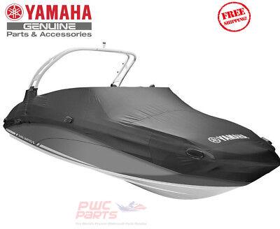 YAMAHA OEM Dlx Boat Cover BLACK 2019 AR190 AR195 Tower Mooring  MAR-190TR-BK-19 | eBay