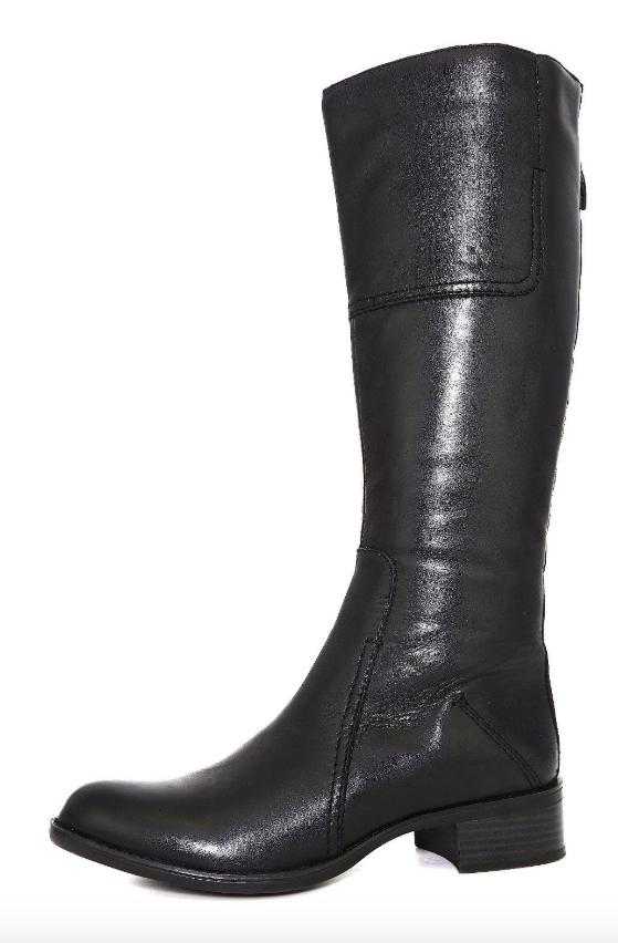 all'ingrosso economico e di alta qualità Franco Sarto Cristo donna nero nero nero Leather avvio Sz 8 M 10017   best-seller