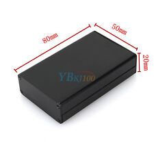 Aluminum PCB Instrument Box Enclosure Electronic Project Case DIY 80*50*20mm Im