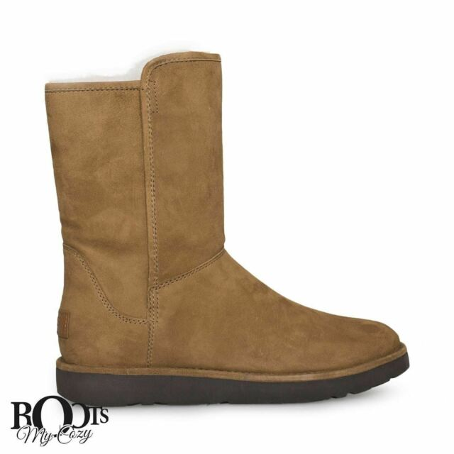 92d60373079 Women's Shoes UGG Abree Short II Zip Shearling Lined BOOTS 1016589 Bruno 8