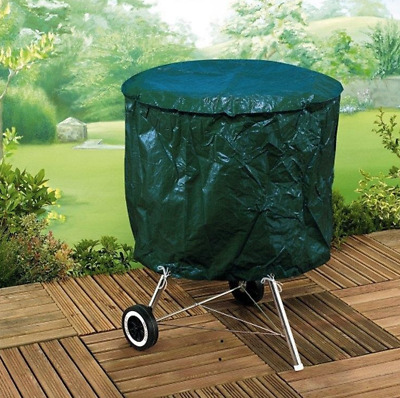 Kettle Barbecue Cover Garden BBQ Rain and Weather Protector Green