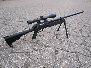 Well-SR-2-Airsoft-Bolt-Action-Sniper-Rifle-Metal-Scope-Bipod-470-FPS-Full-Size