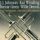 The Four Trombones: The Debut Recordings by Four Trombones/J.J. Johnson (Trombone)/Kai Winding (CD, Jun-1990, Universal Distribution)