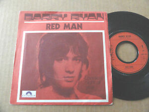 DISQUE-45T-DE-BARRY-RYAN-034-RED-MAN-034