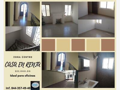Casa en Renta en Saltillo Centro