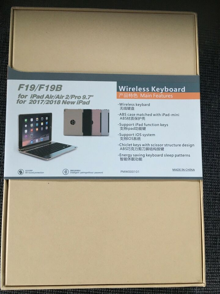 WiFi keyboard, Keyboard