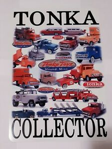 TONKA-COLLECTOR-SIGN-8x12-VINTAGE-TRUCK-50S-60S-CHRISTMAS-GIFT-FREE-SHIP-LIMITED