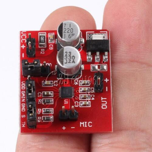 MAX9814 Electret Microphone Amplifier Perfect with AGC Function For Arduino