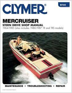 clymer mercruiser gm 4 cylinder 181 inboard outboard service repair rh ebay com Mercruiser Cooling System Mercruiser Parts List
