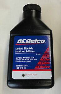 gm differential fluid additive